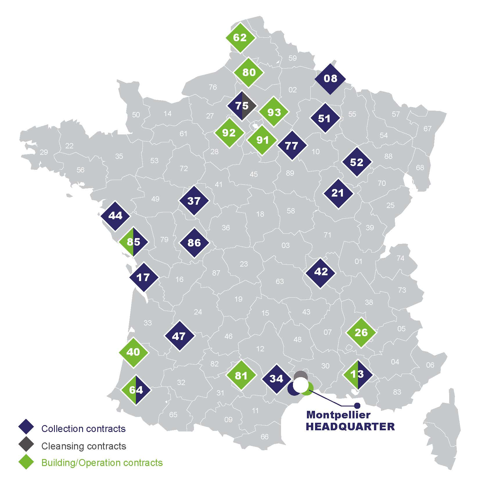 Where we work? Urbaser Environnement