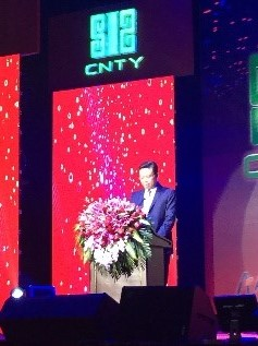 Speech from CNTY CEO Cao Debiao