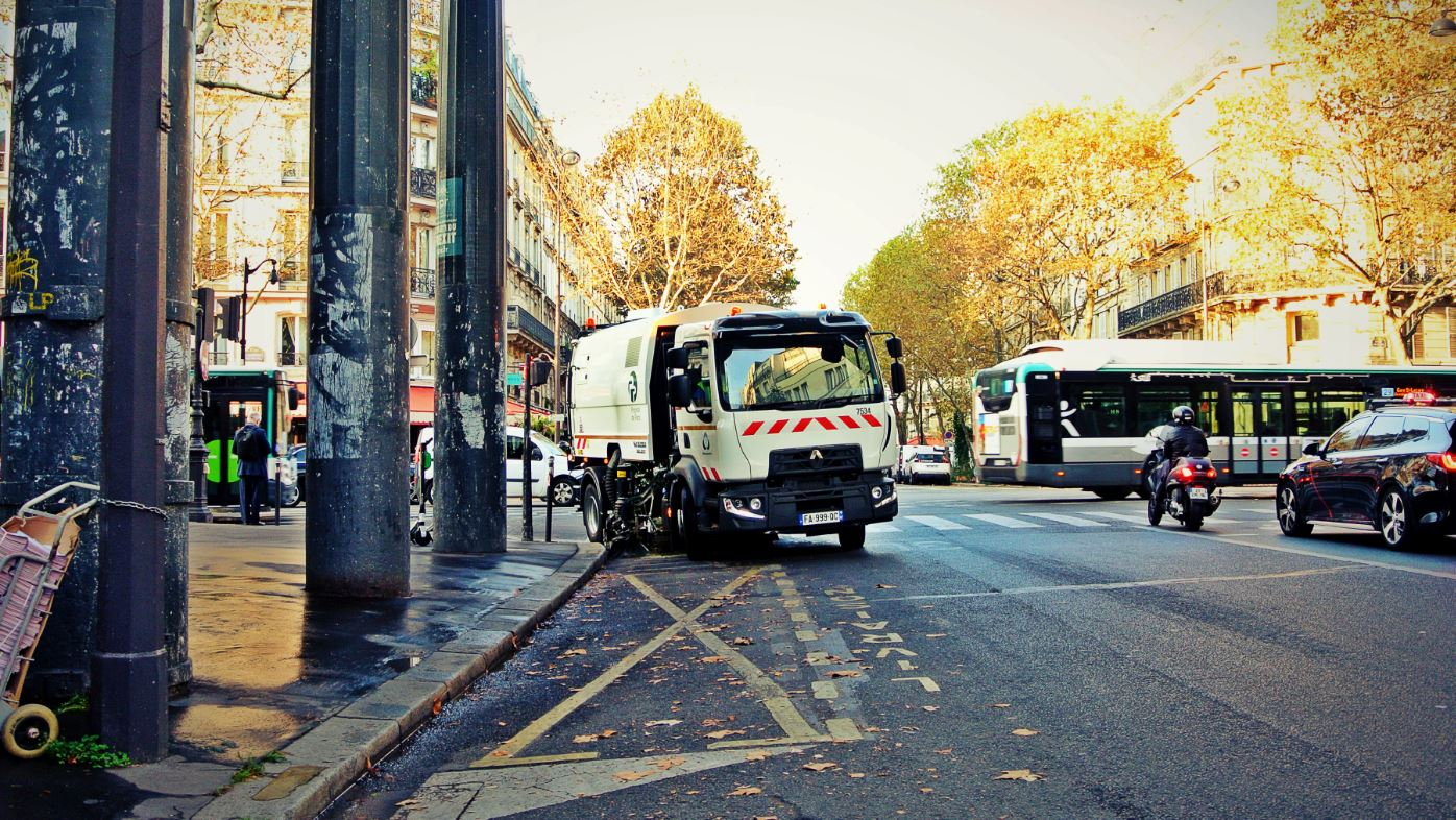We have also secured a second renewal for cleaning services covering 16 districts of Paris